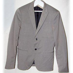 Dirk Bikkembergs Gray Men's Blazer Size 48